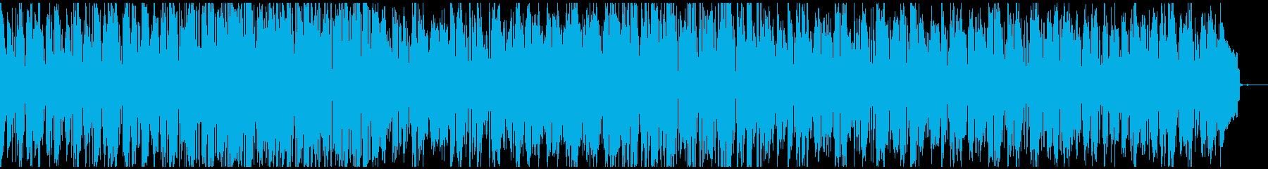 オシャレなピアノのスムースジャズの再生済みの波形