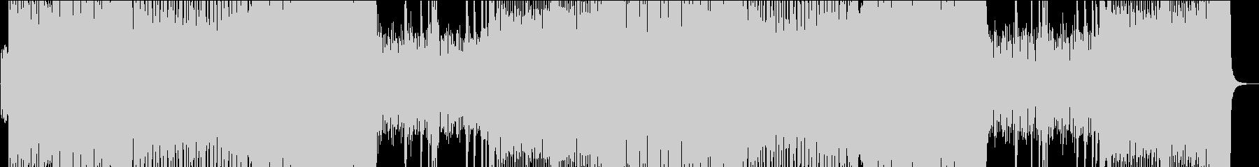 ひと昔前の音ゲーハードコア!!!の未再生の波形