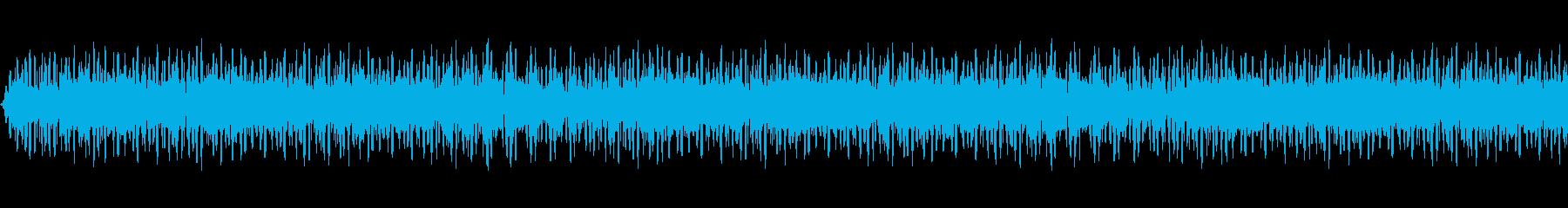 不気味な反響するハム。ハムWeb ...の再生済みの波形
