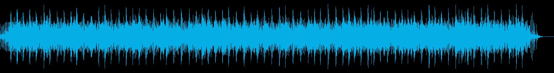 [生録音]魚釣り、リールを巻く02の再生済みの波形
