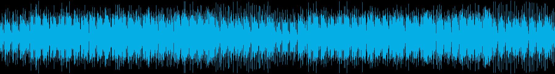 【YouTube】ゆる~い日常&ロックの再生済みの波形