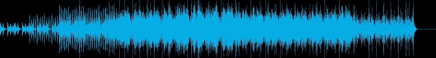 ポップスの再生済みの波形