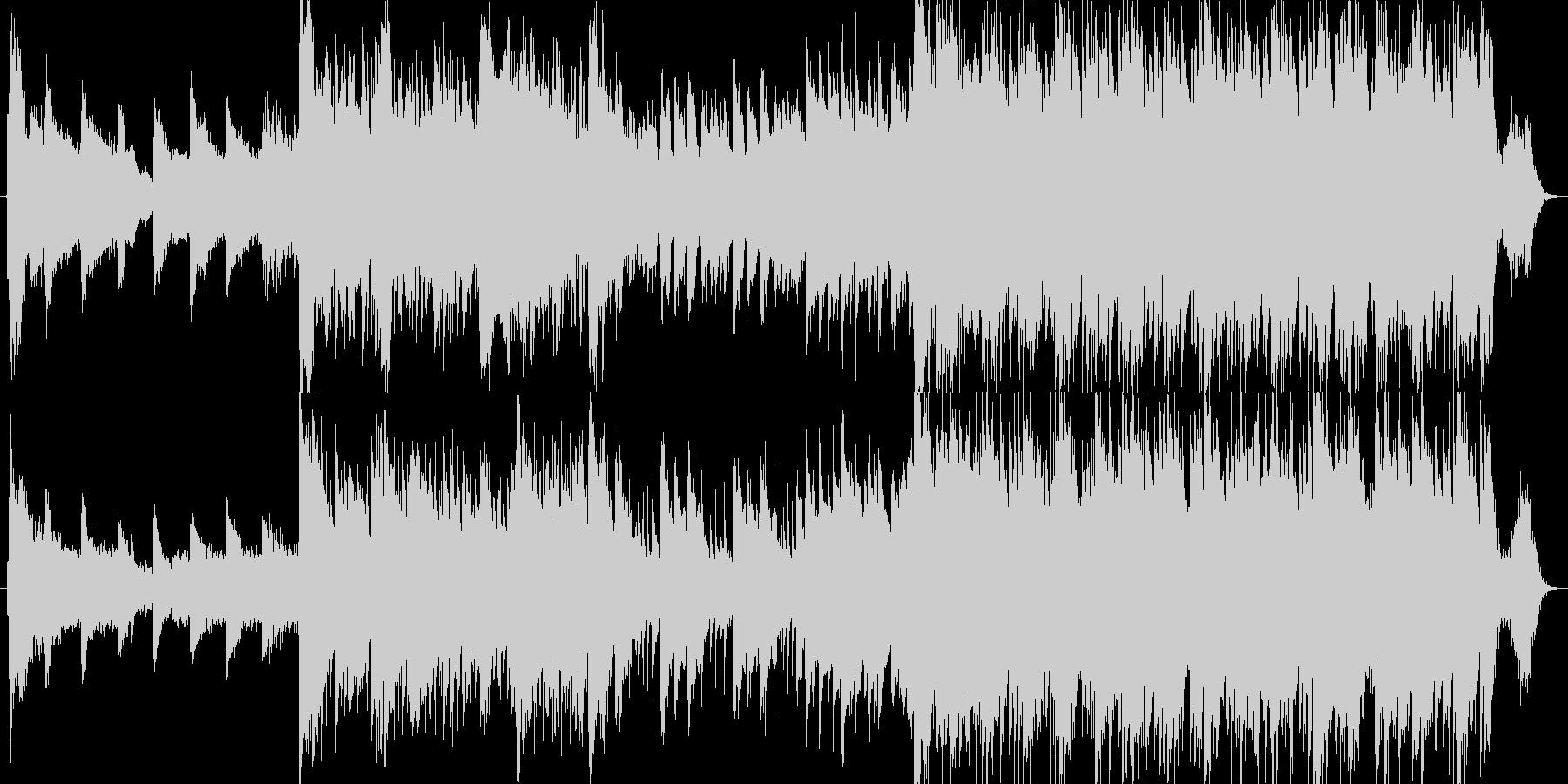 民族楽器+ピアノが印象的なしっとりBGMの未再生の波形