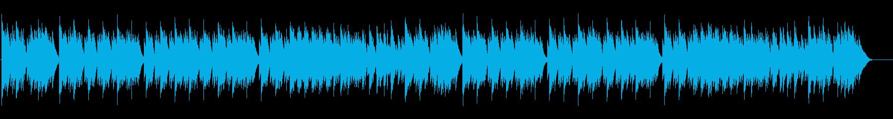 眠気を誘うカリンバの心地良いバラードの再生済みの波形