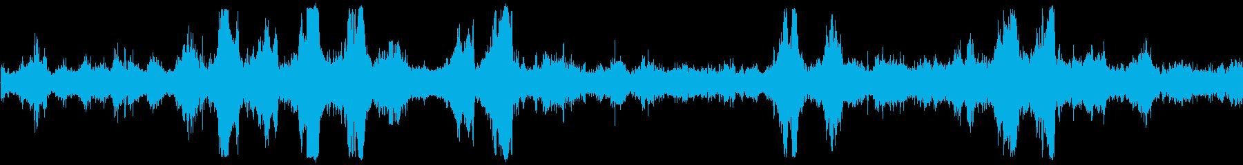 海 海岸破壊波01の再生済みの波形