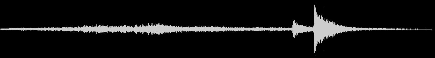 メタルグリル:ライトスクレイピング...の未再生の波形