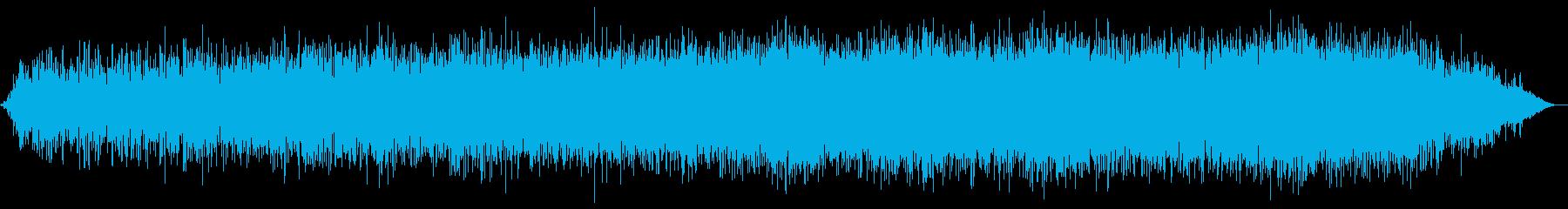 ヒーリング向けの宇宙的アンビエントの再生済みの波形