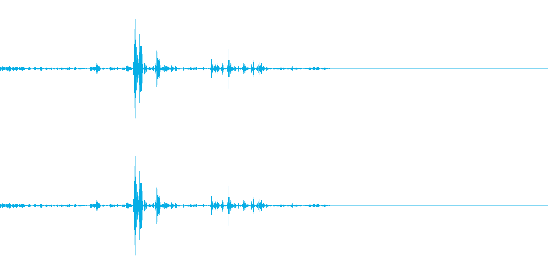 飲み込む音です。の再生済みの波形