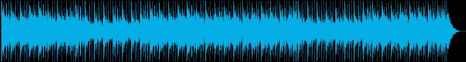 コンガ、シンバルのうねり、低音のシ...の再生済みの波形