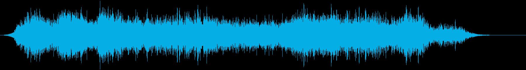 音楽:不気味なホラーオーケストラ、...の再生済みの波形
