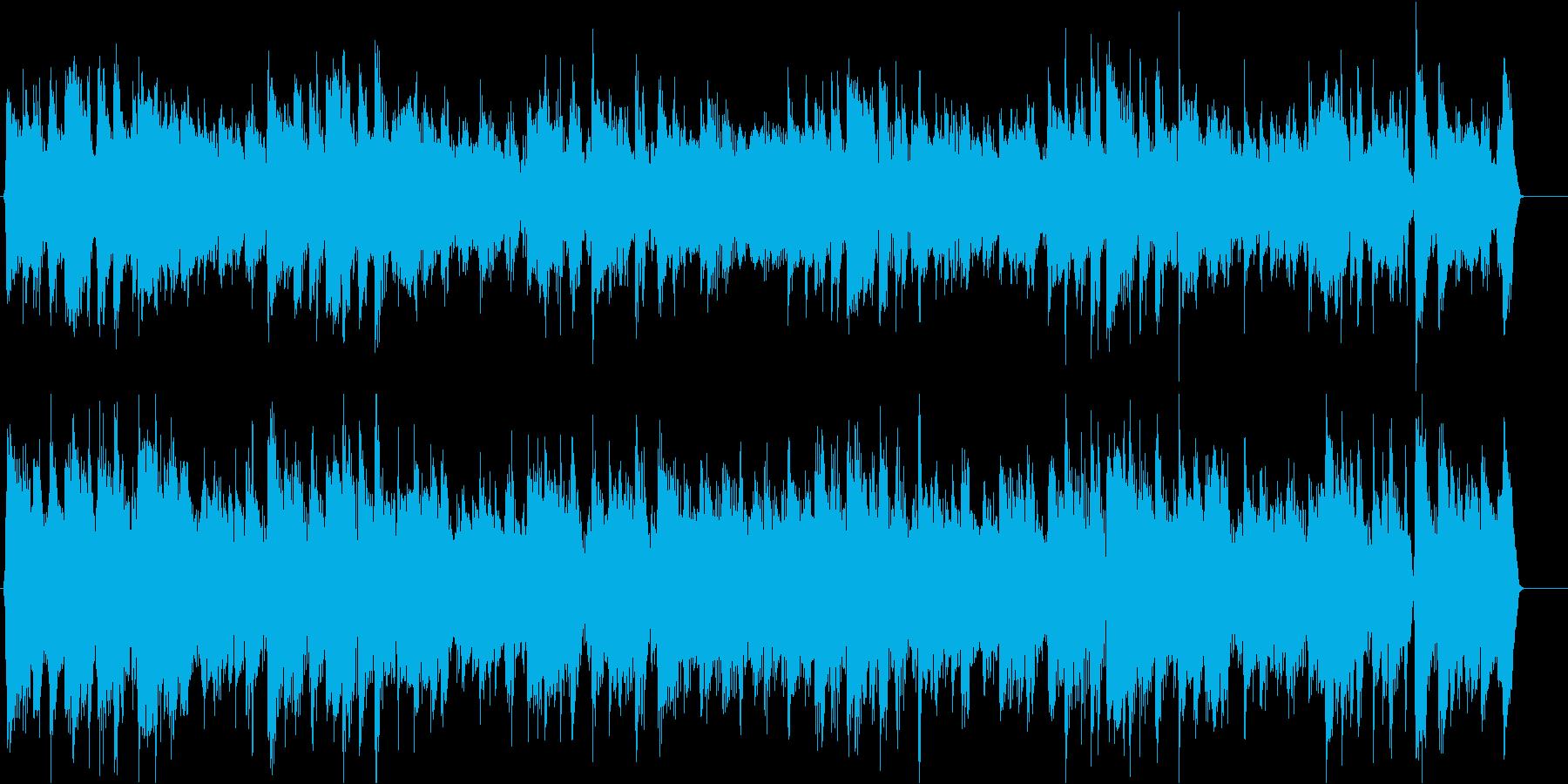 人気曲別ver生演奏アコギで颯爽と軽快にの再生済みの波形