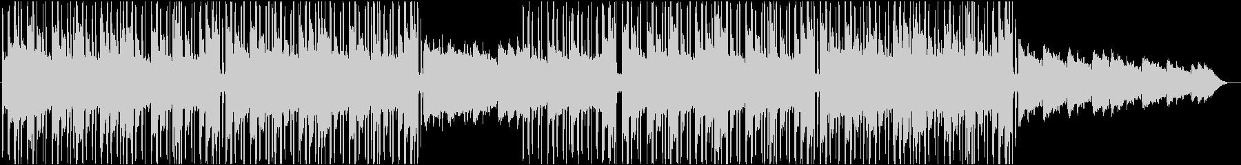 スタイリッシュなヒップホップのリラックスの未再生の波形