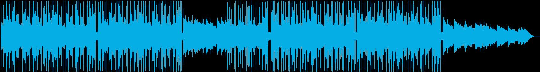 スタイリッシュなヒップホップのリラックスの再生済みの波形