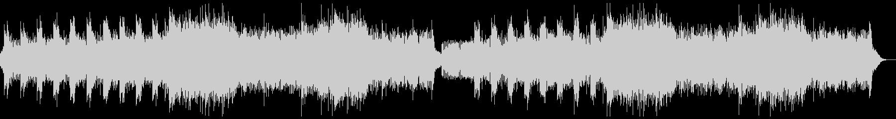 ホラー系のヘビーメタルロック・戦闘バトルの未再生の波形