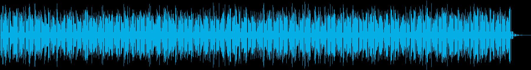 シーケンス グリッティベースシーケ...の再生済みの波形