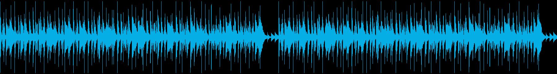 口笛&ウクレレ/ほのぼのかわいい/ループの再生済みの波形