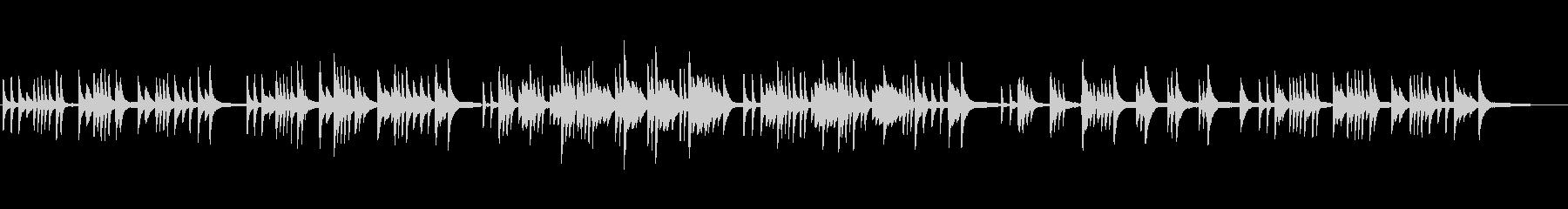 ジブリ風 悲しいバラード/ラウンジピアノの未再生の波形