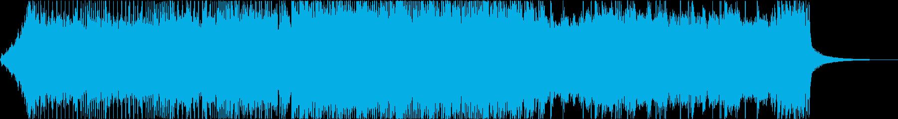 ピンチ、差し迫った緊張感のあるメタルの再生済みの波形