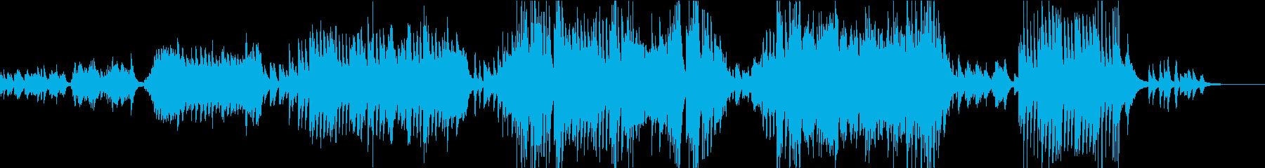 熱く激しくどこか切ないピアノ即興曲の再生済みの波形