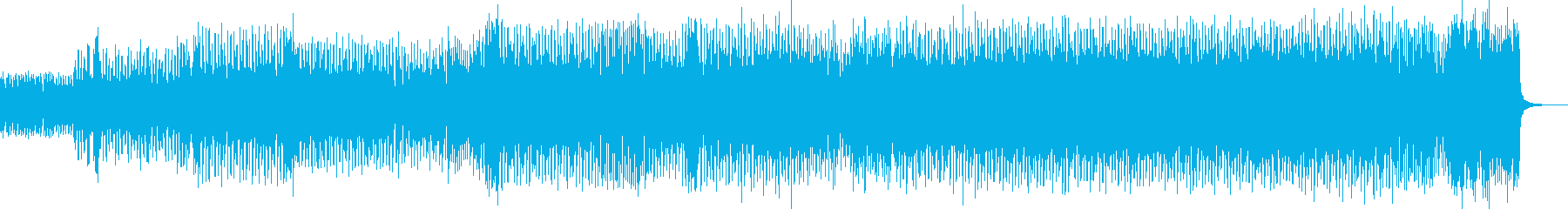 シタールとスクエアシンセが印象的なテクノの再生済みの波形