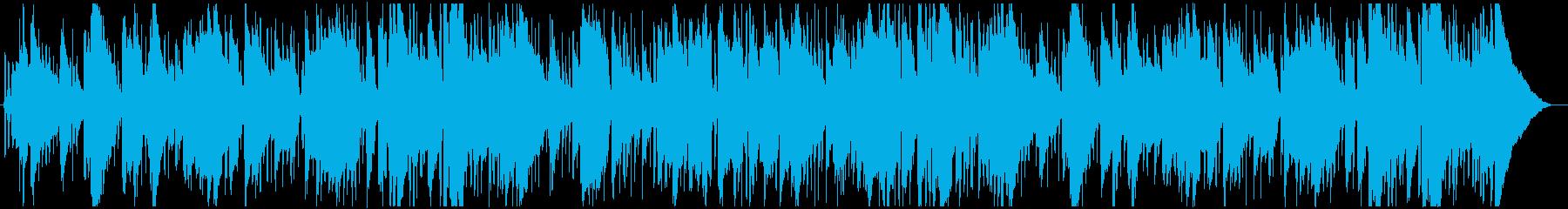 ジャズボサノヴァラテン。滑らかでリ...の再生済みの波形