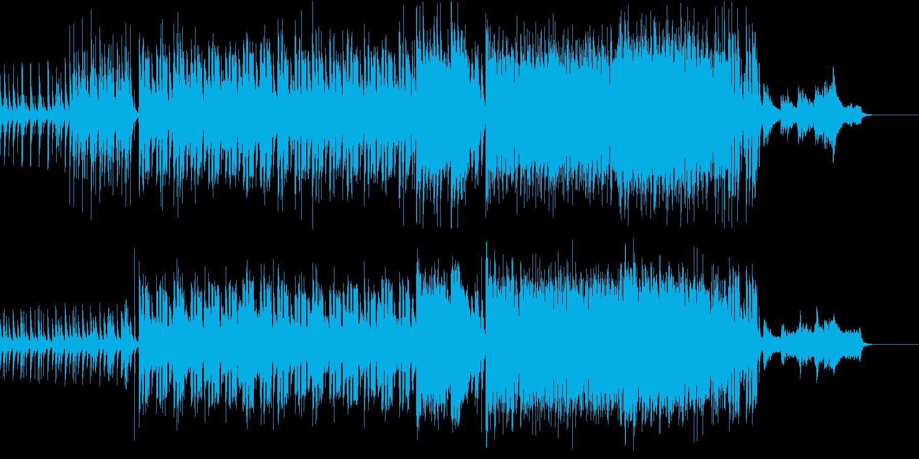 ★雅で粋な大江戸 和風ステージの再生済みの波形
