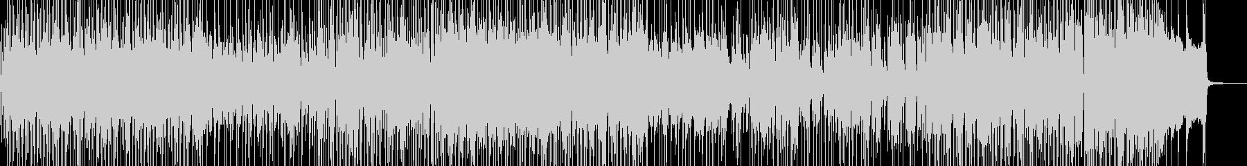 三味線・軽快&天晴れなジャズポップの未再生の波形