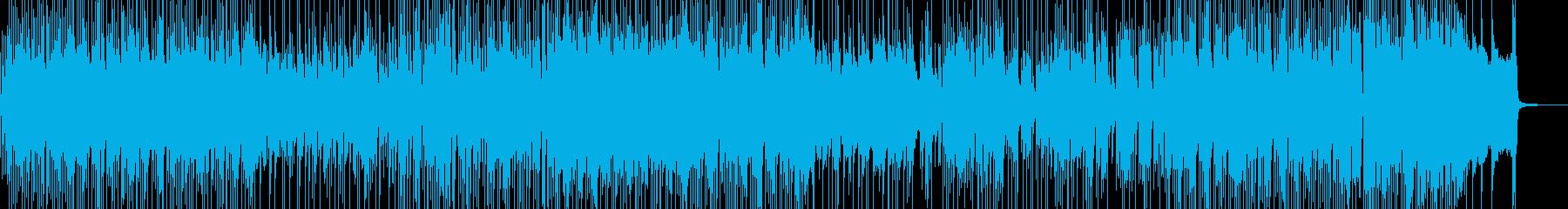 三味線・軽快&天晴れなジャズポップの再生済みの波形