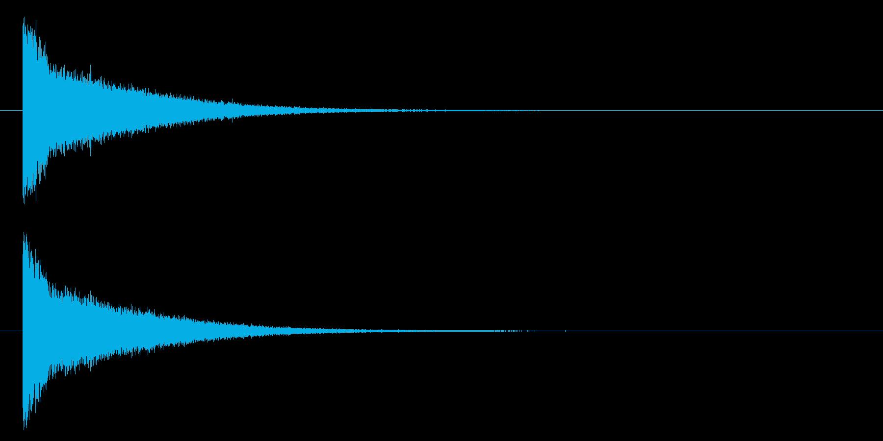 パーン/破壊/撃破/爆発/クールの再生済みの波形