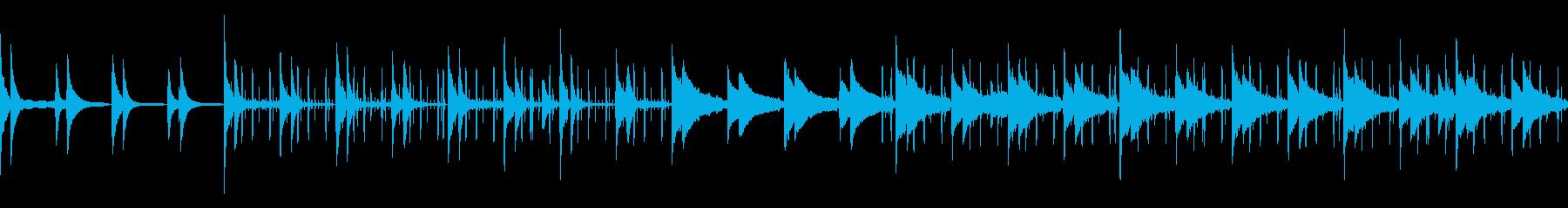 夜のくつろぎピアノビート(ループ仕様)の再生済みの波形