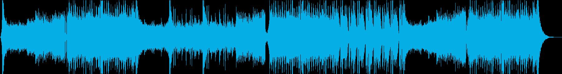 eスポーツ 大会 EDM オケのみの再生済みの波形