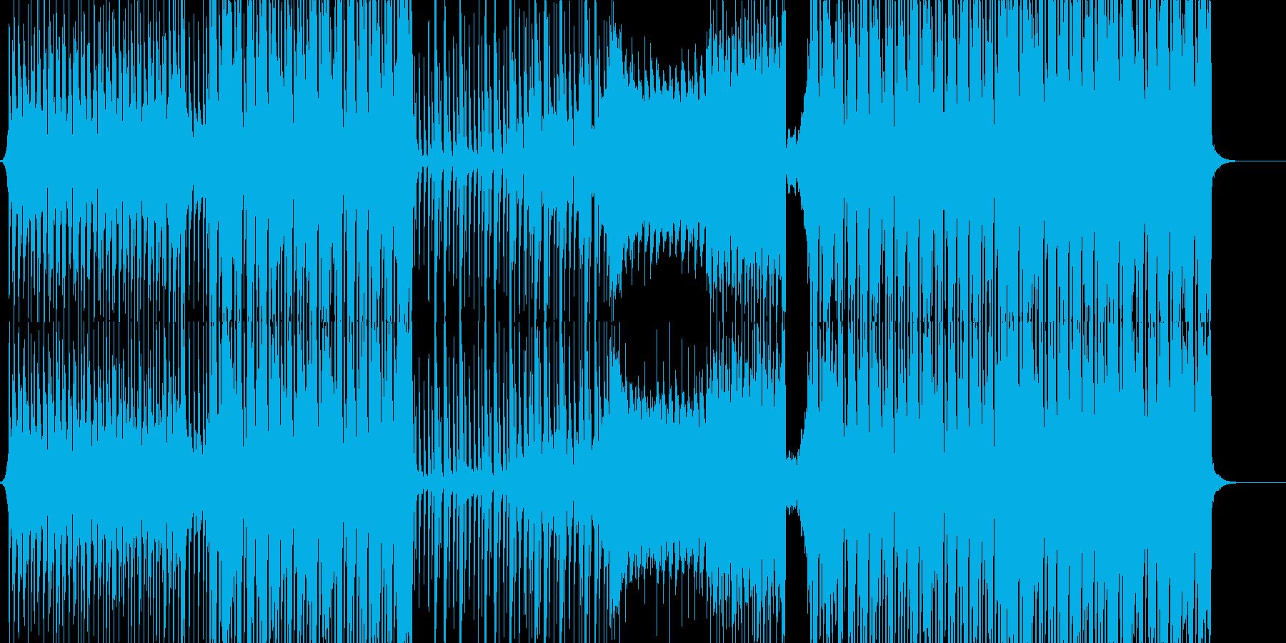 エモいEDM/FutureBass/洋楽の再生済みの波形
