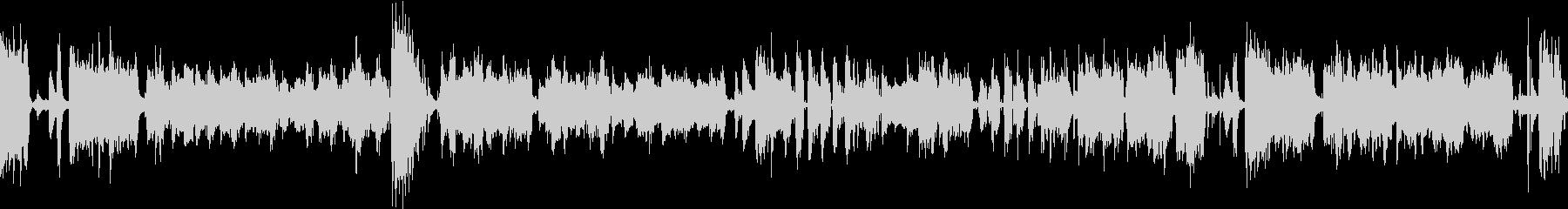 ほのぼの明るいオルガンピアノトリオジャズの未再生の波形
