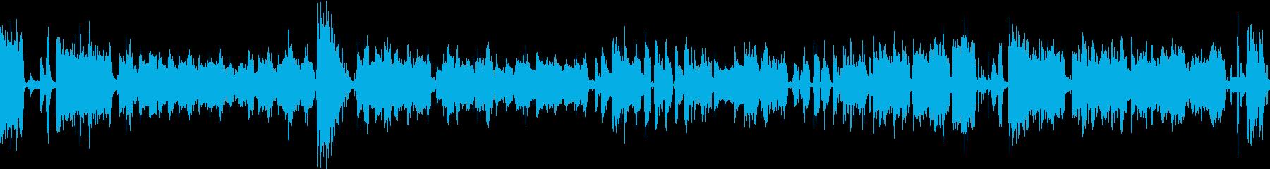 ほのぼの明るいオルガンピアノトリオジャズの再生済みの波形