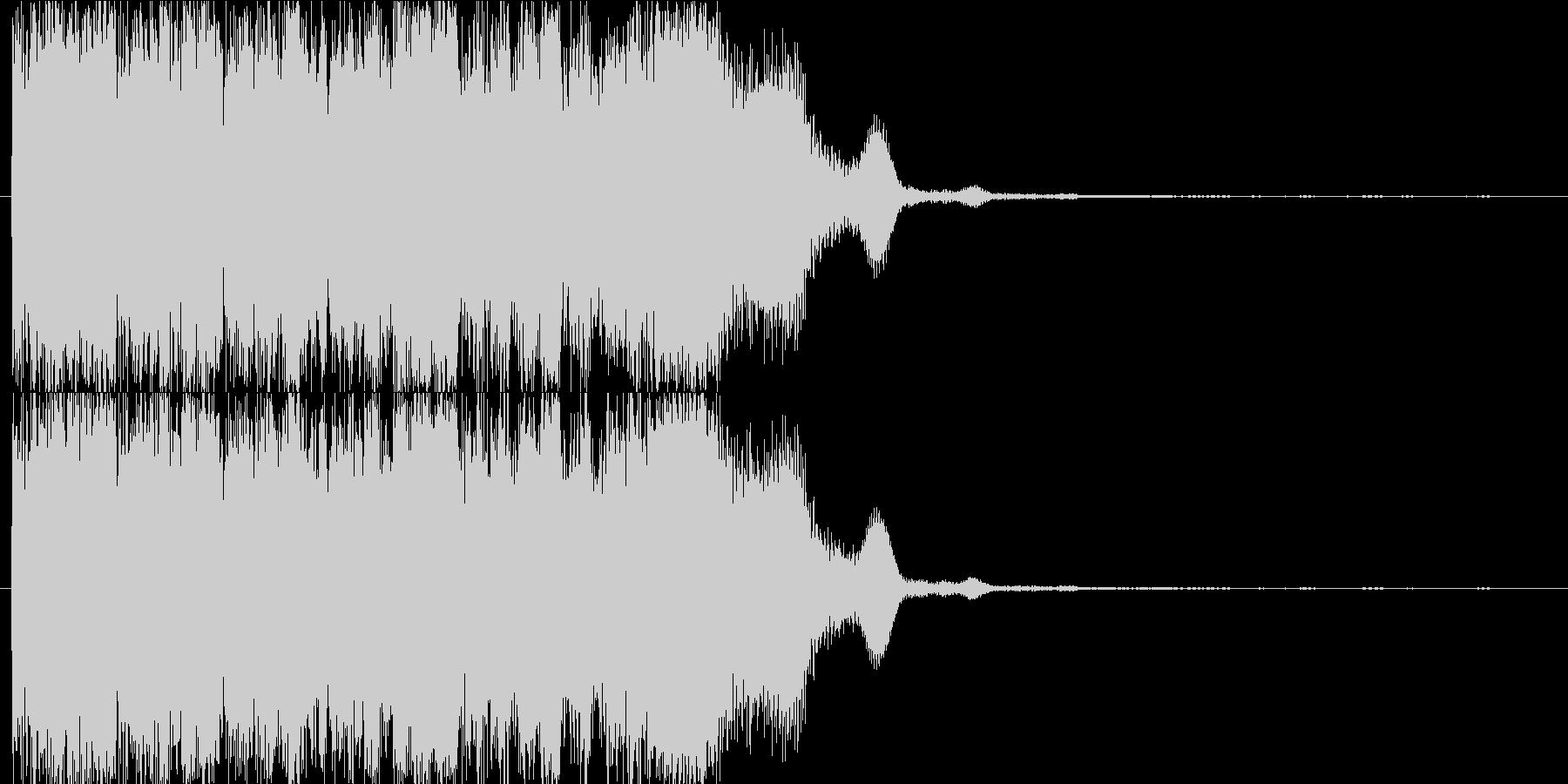 非常ベル_一瞬2の未再生の波形