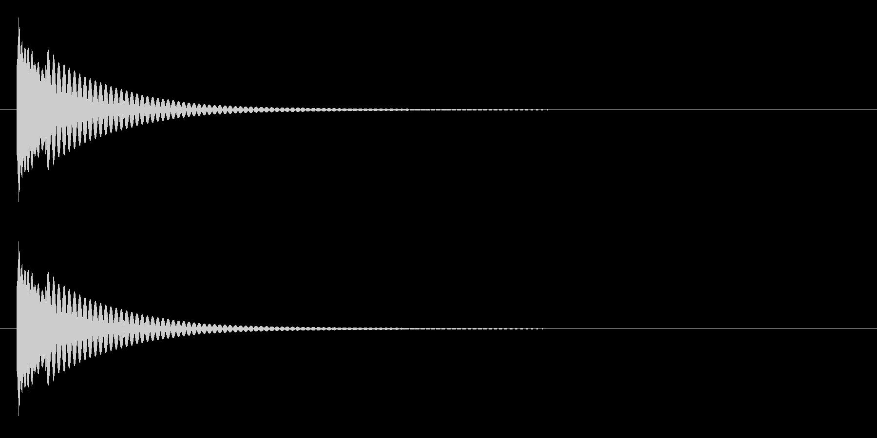 りん・持鈴「チリーン」#1の未再生の波形
