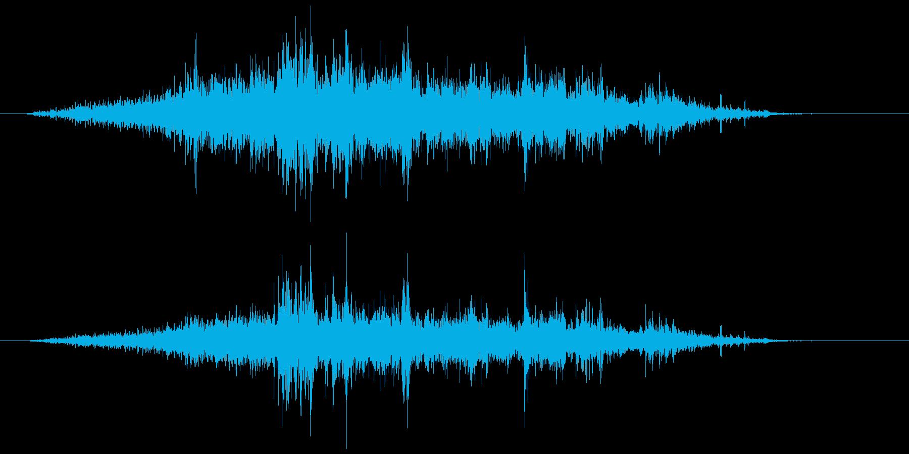 メジャー巻尺(コンベックス)シャァッの再生済みの波形