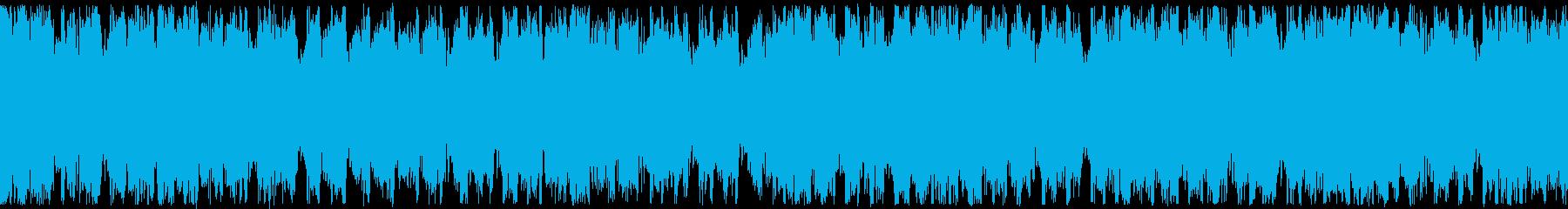 【ループ再生】疾走感のある爽やかなEDMの再生済みの波形