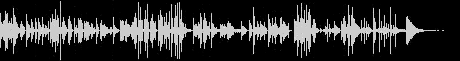 名曲「ふるさと」のソロギターアレンジの未再生の波形