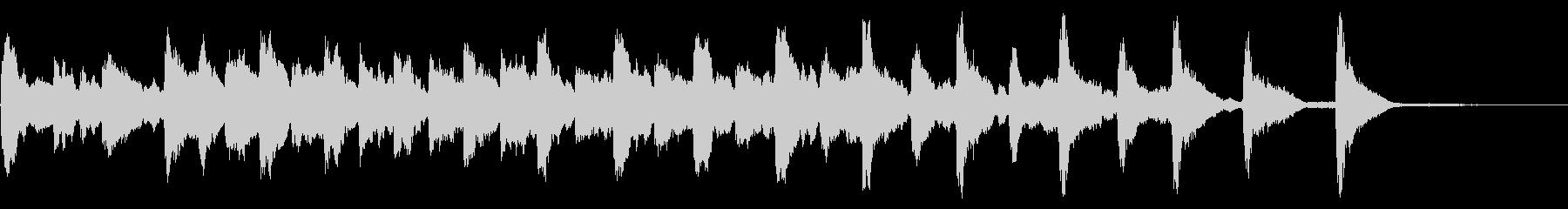レプトンチャーチアベル:リンギングの未再生の波形