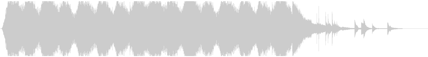 錆びれた古典的なアトモスフィアの未再生の波形