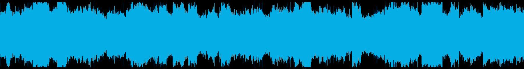 ラスボス前のような深刻なシーンで使える曲の再生済みの波形
