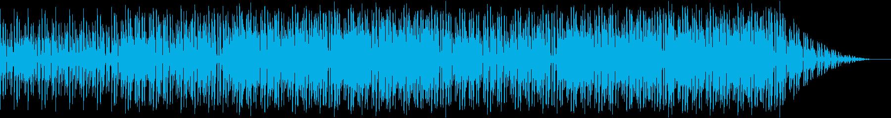 ゆったりテンポでノりたくなるクールEDMの再生済みの波形