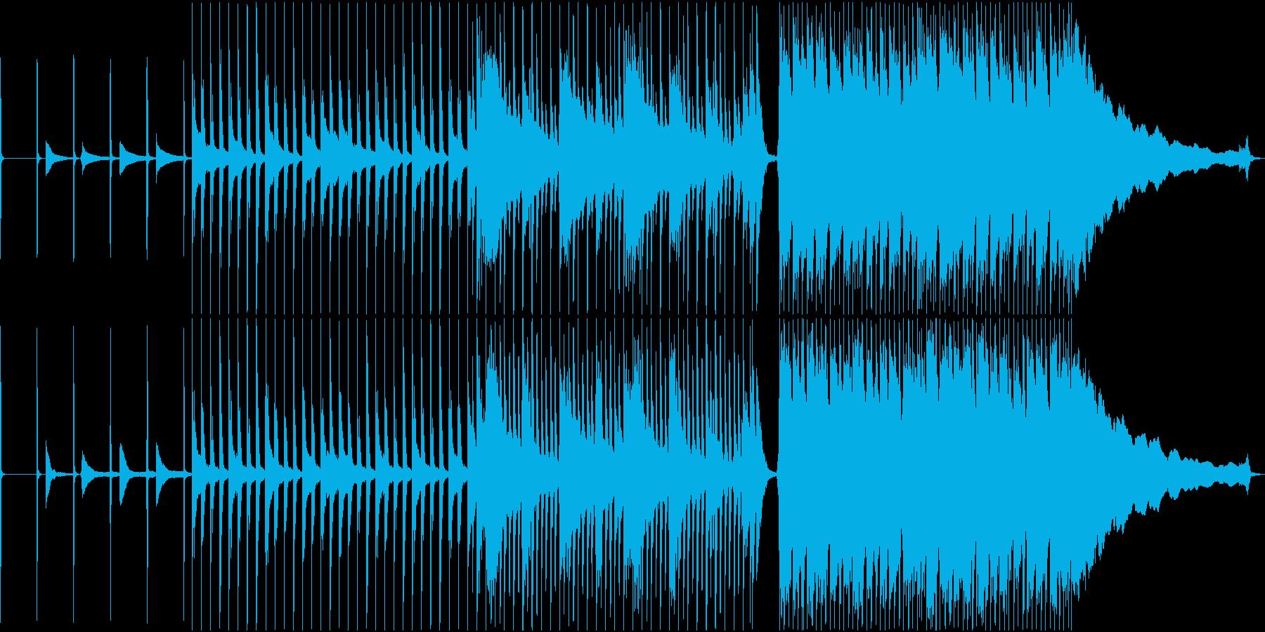 Apple Likeでクールめなロックの再生済みの波形