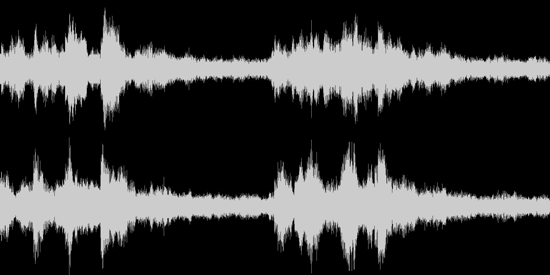 琴やシンセを使った和風なジングル_ループの未再生の波形