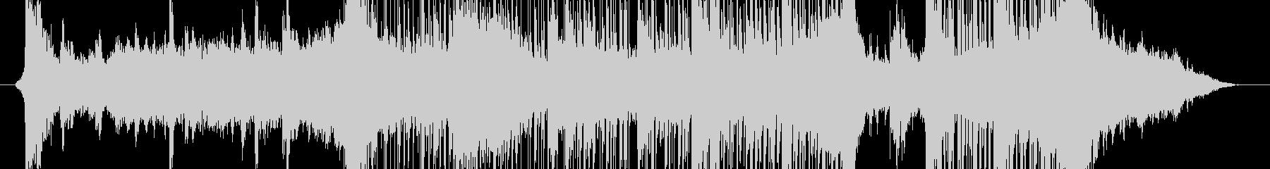 SF的な大きな物体の登場音楽の未再生の波形