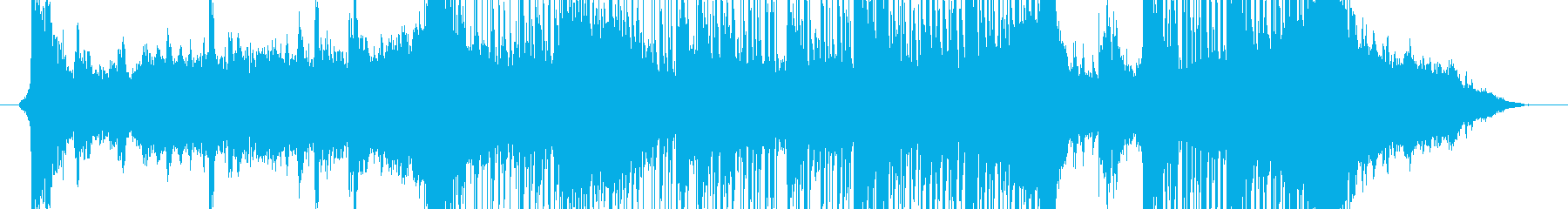 SF的な大きな物体の登場音楽の再生済みの波形