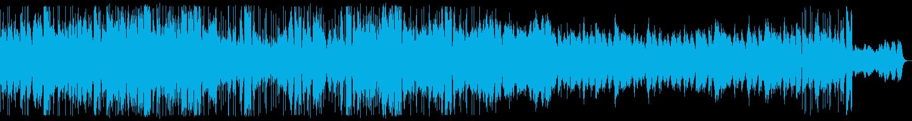 おしゃれなフォークトロニカの再生済みの波形
