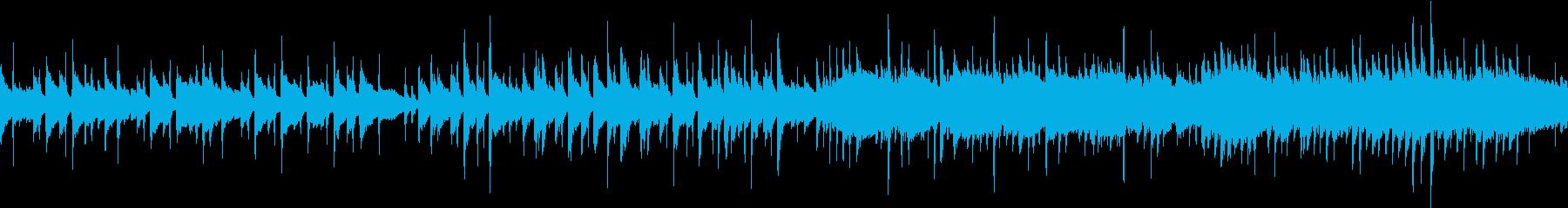 自然の雄大さと切なさを感じる生音フォークの再生済みの波形