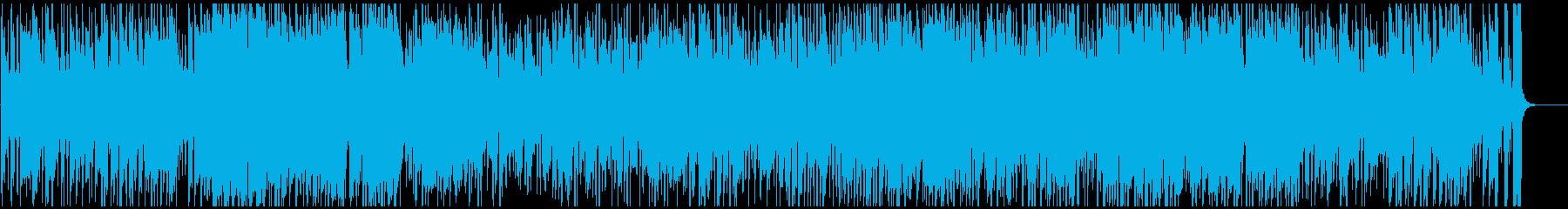 ワクワク楽しい盛り上がるジャズファンク!の再生済みの波形